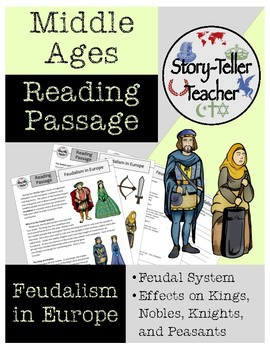 Feudalism in Europe Middle Ages Reading Passage