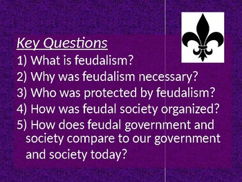 Feudalism in the Middle Ages Powerpoint