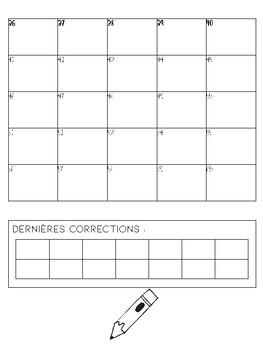 Feuille-réponses - Cartes à tâches