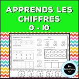 Apprends les chiffres 0 à 10 | French Number Practice 0 to 10