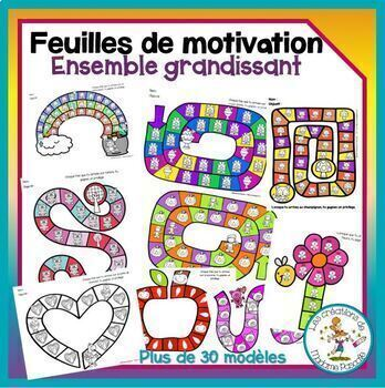 Feuilles de motivation - ensemble grandissant / growing bundle