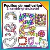 Feuilles de motivation - ensemble grandissant / growing bundle