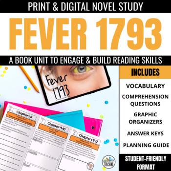 Fever 1793 Foldable Novel Study Unit