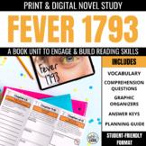 Fever 1793 Novel Study Unit