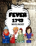 Fever 1793 by Laurie Halse Anderson  - Comprehension and Vocabulary Novel Unit