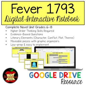 Fever 1793 Digital Interactive Notebook