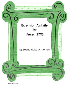 Fever, 1793 Extension Activity