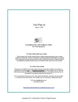 Fever 1793  Complete Literature and Grammar Unit
