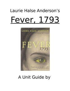 Fever, 1793 Novel Unit