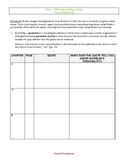 Fever, 1793: Post-Reading Character Activity - Graphic Organizer