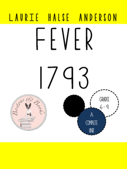 Fever 1793 by Laurie Halse Anderson-Book Club Discussion Q