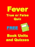 Fever 1793 FREE True or False Quiz by Laurie Halse Anderson