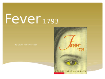 Fever 1793 by Laurie Halse Anderson: Structured Literature