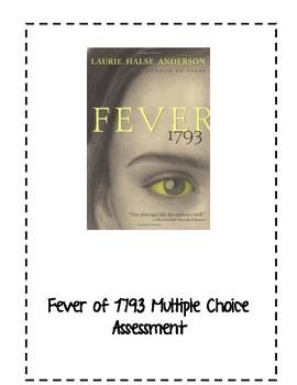 Fever of 1793 Multiple Choice Assessment