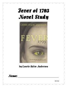 Fever of 1793 Novel Study