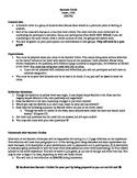 Fever1793 Socratic Circle Questions