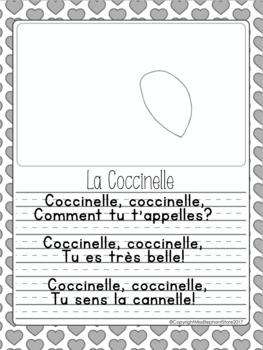 Février Maternelle Coccinelle Poesie By Misselephant Tpt