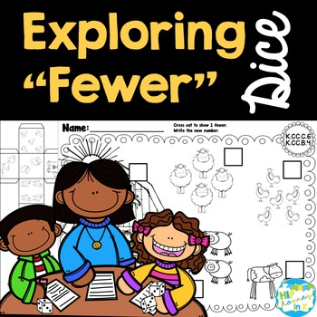 "Exploring ""fewer"" and ""less than"" Dice"