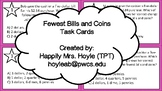 Fewest Bills & Coins Task Cards