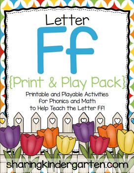 Letter Ff {Print & Play Pack}