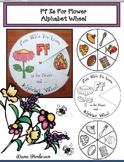 Ff Is For Flower Alphabet Wheel