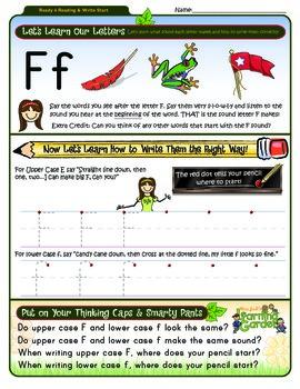 Ff Worksheet