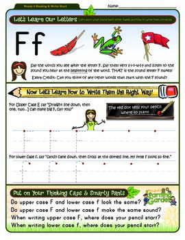Ff Worksheet