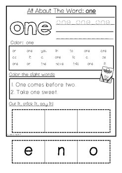 Fry Sight Words Pack 2 (Words 26-50)