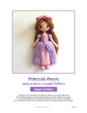 Fiber Art Craft: Waldorf Irish Fairytale Princess Amigurumi Crochet Doll Pattern
