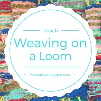 Fiber Weaving on a Loom