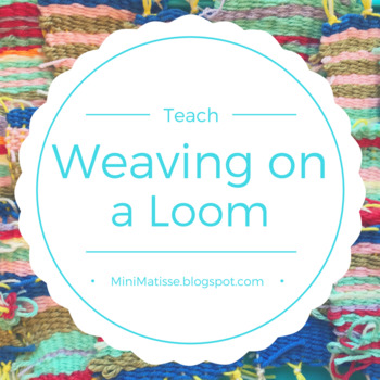 Fiber Weaving on a Loom