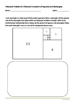 Fibonacci Numbers Student Discovery Worksheet