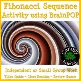Fibonacci Sequence Activity using BrainPOP