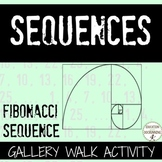 Fibonacci Sequence Gallery Walk Activity  Great for enrichment