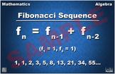 Fibonacci Sequence Math Poster