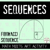 Ratio and Number Patterns Activity exploring Fibonacci Sequence