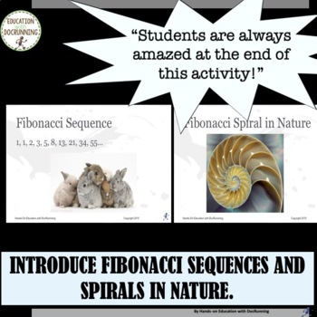 Fibonacci Sequence and Ratio Activity Great for Valentine's Day