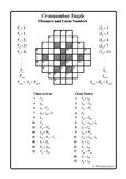 Fibonacci and Lucas Numbers (Cross-number Puzzle)