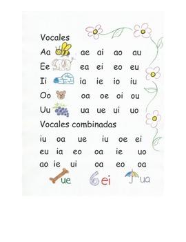 Lectura  VOCALES