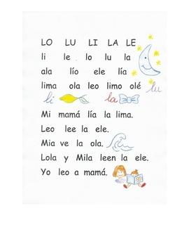 Lectura letra L