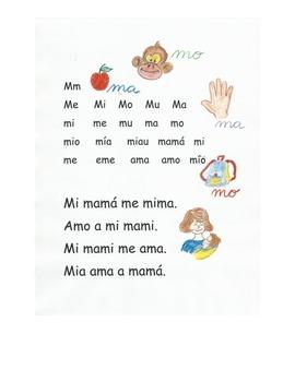 Lectura letra M