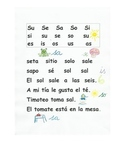 Lectura letra S