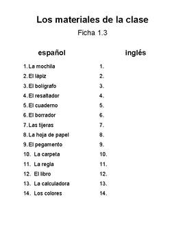 Fichas Materiales de La Clase
