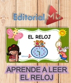 Fichas Para Enseñar a Leer el Reloj a los Niños para Imprimir