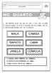 Fichas de Leitura - OBJETOS - Sílabas Simples