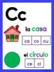 Fichas de letras de tamaño GRANDE-AZUL