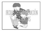 Fichas  para tratamiento del habla // Recovery sheets for