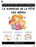 Fiche de lecture la surprise de la fête des Mères, compréhension, french (#37)
