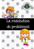 Fiche de travail - La résolution de problèmes