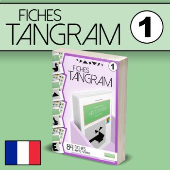 Fiches Tangram VOL.1 - 84 fiches recto/verso